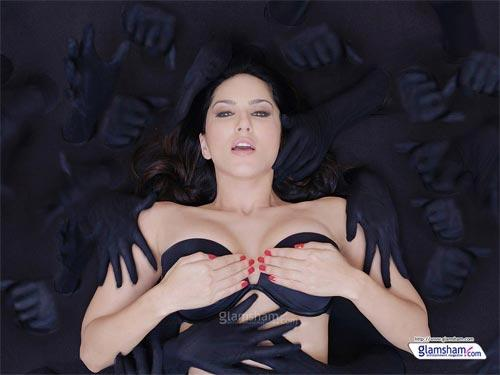 Adult star Sunny Leone is lusty and spooky 'Baby Doll'