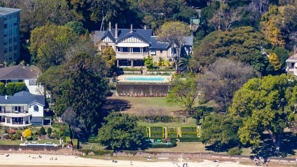 Mike Cannon-Brookes' $100 million Point Piper mansion. Source: Domain