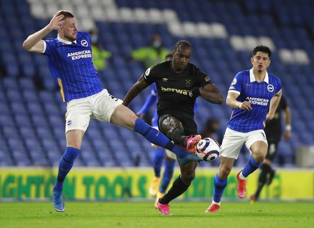 Brighton boss Graham Potter believed the draw was a fair result