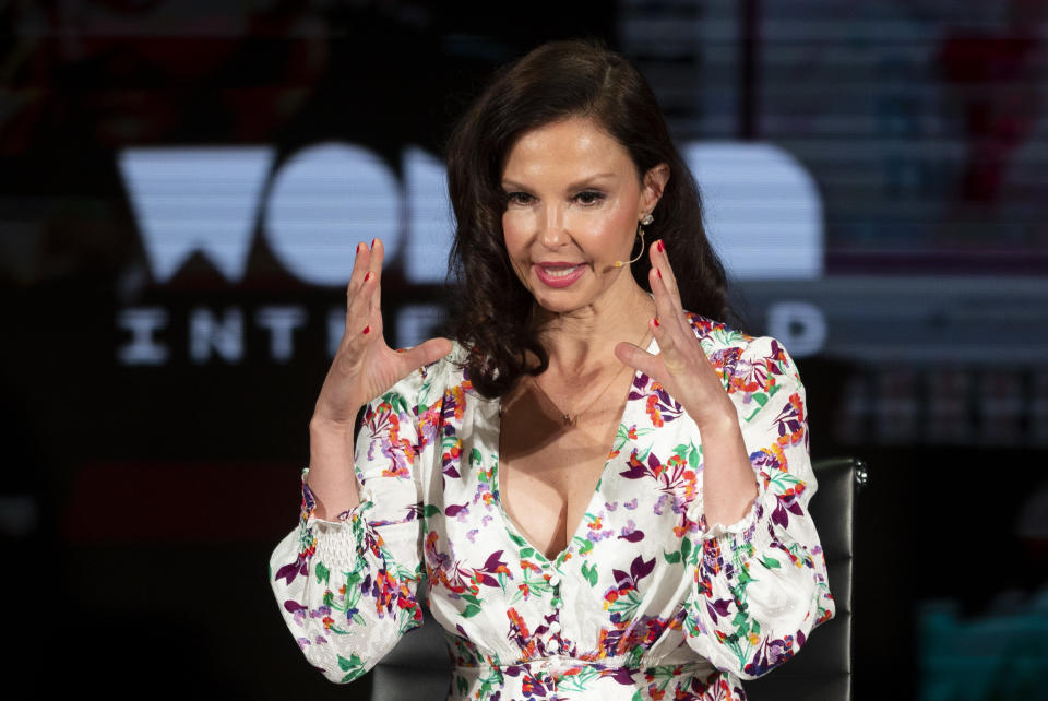 Ashley Judd, who has accused Weinstein of unwanted sexual advances, thanked other survivors for speaking out. (Photo: Johannes EISELE / AFP via Getty Images)