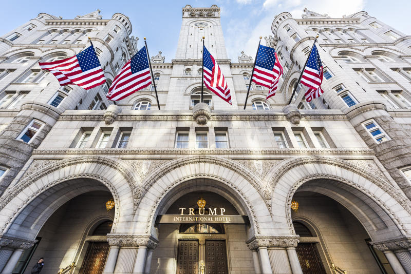 Giuliani says two FBI agents interviewed him in his suite at the Trump International Hotel in Washington, D.C. (ablokhin via Getty Images)