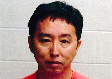 Dong Liu pictured in this undated handout photo from Raynham Police Department in Raynham