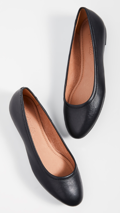 Made with a sturdy rubber sole and padded footbed, these black beauties are a must-have. (Photo: Shopbop)