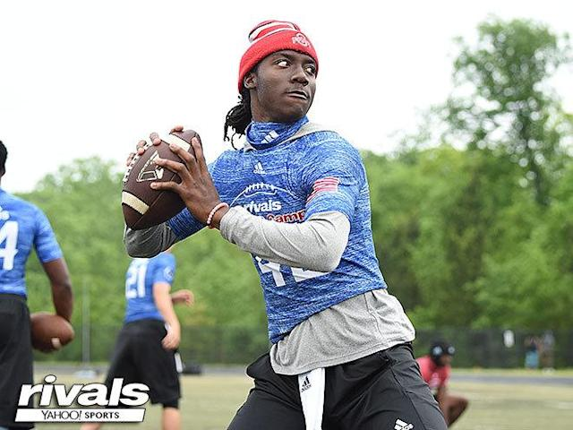 Florida snagged No. 2 dual-threat QB Emory Jones after a little bit of consternation. (Rivals/Yahoo Sports)