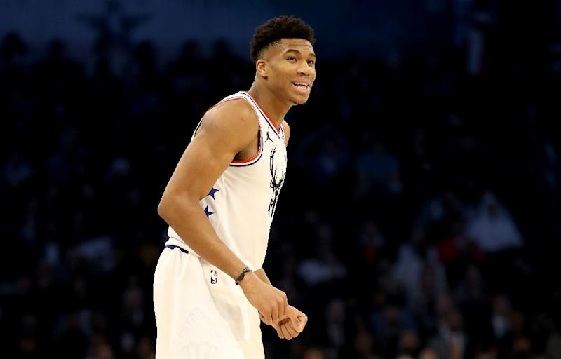 Giannis Antetokounmpo finished with 30 points and 13 rebounds in his first game back since his hand-picked team lost to Team LeBron at the 2019 NBA All-Star Game