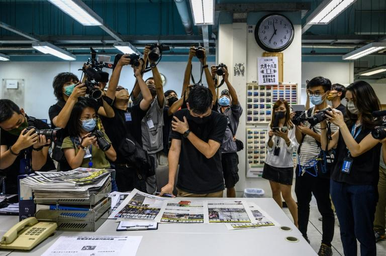 Five executives, including chief editor Ryan Law and CEO Cheung Kim-hung, were arrested under Hong Kong's new national security law on charges of collusion