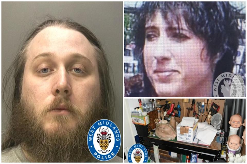 "Maynard-Ellis, left, was convicted of murdering Julia Rawson at his ""flat of horrors"". (PA/West Midlands Police)"