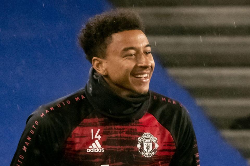 <p>Jesse Lingard is joining West Ham on loan from Manchester United</p> (Manchester United via Getty Images)
