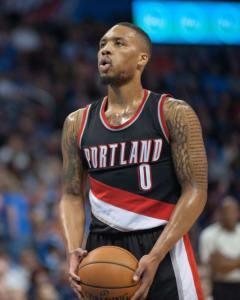 Jeff Edgerton digs into Monday's slate and thinks Damian Lillard will be able to exploit a Pistons backcourt defense that's now missing Avery Bradley.