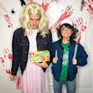<p>Halloween lifts the curtain on unlikely romances in Hollywood when you see who hits the star-studded bashes together. This year, it appears that <i>Modern Family</i> actress Sarah Hyland and <i>The Bachelorette</i> alum Wells Adams have something going on. The possible-couple both dressed up as characters from <i>Stranger Things</i>, but with Wells going as Eleven and Hyland as Dustin Henderson. (Photo: Instagram/Sarah Hyland) </p>