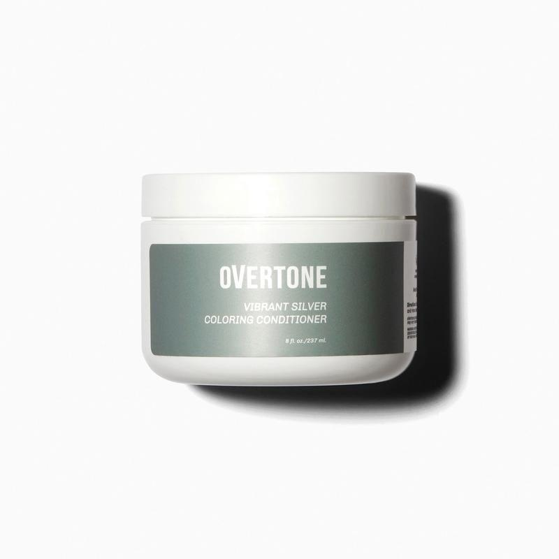 """<p>overtone.co</p><p><strong>$29.00</strong></p><p><a href=""""https://overtone.co/products/vibrant-silver-coloring-conditioner?variant=9258471427¤cy=USD&gclid=CjwKCAjw5p_8BRBUEiwAPpJO6-tBJo1DfE6UFlidMgVYXmzoHFO7KWUma1PQ4F__xxHIm3ZBnkydMBoCyYoQAvD_BwE"""" rel=""""nofollow noopener"""" target=""""_blank"""" data-ylk=""""slk:Shop Now"""" class=""""link rapid-noclick-resp"""">Shop Now</a></p><p>This ultra-hydrating conditioner is perfect if your tresses need some TLC. It deposits bright silver color without using harsh ingredients like ammonia, and instead relying on nourishing ingredients like shea butter, avocado oil, and coconut oil. """"This product did what an expensive salon couldn't achieve,"""" raves one reviewer. """"I love my grey hair!"""" Other reviewers say that it's helped them transition their graying hair to fully gray without any awkward in-between stages. <br></p>"""