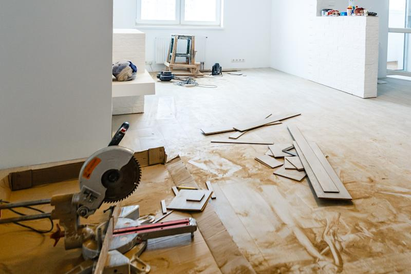 Home renovations can add value to your house, but a botched job will have the opposite effect. (Photo: Getty)
