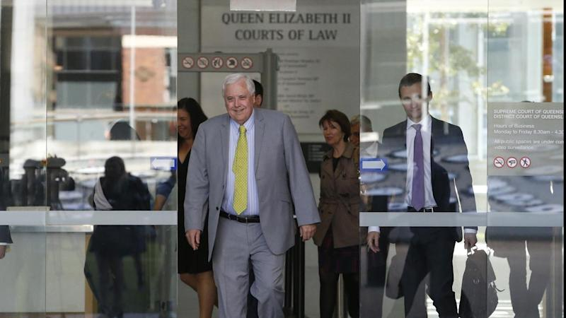 Clive Palmer's personal assistant is expected to appear in the QNI hearing today.