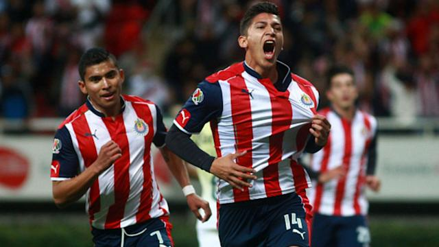 Angel Zaldivar Chivas Liga MX Mexico Clausura 2017