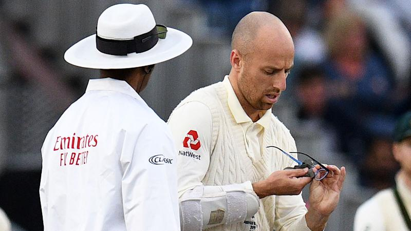 Jack Leach's glasses spawned a Twitter handle during the Ashes.