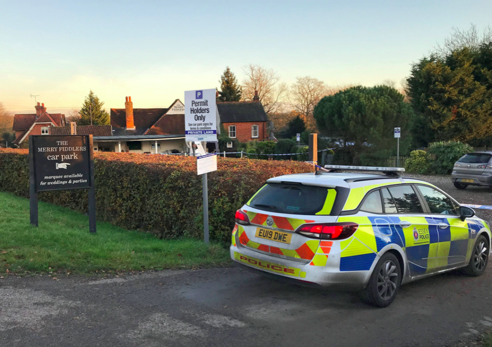 A 51-year-old man, was arrested in a vehicle in the car park of the Merry Fiddler pub in Fiddlers Hamlet at 11pm on Monday (PA)