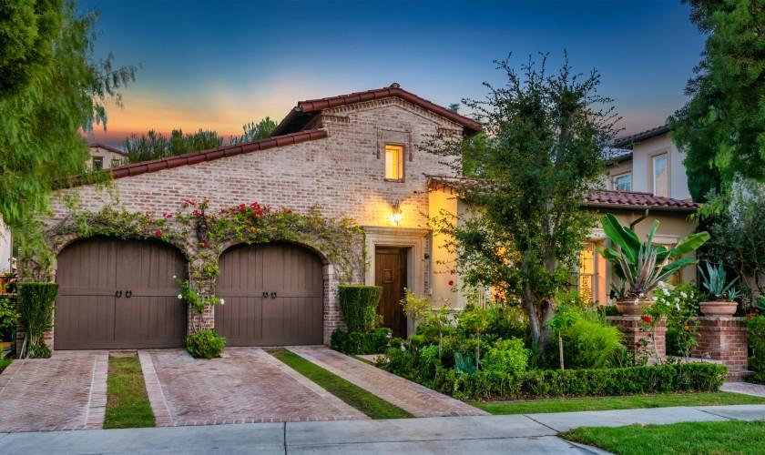 Built in 2003, the Spanish-style home in a gated community offers three bedrooms and 2.5 bathrooms in 2,300 square feet.