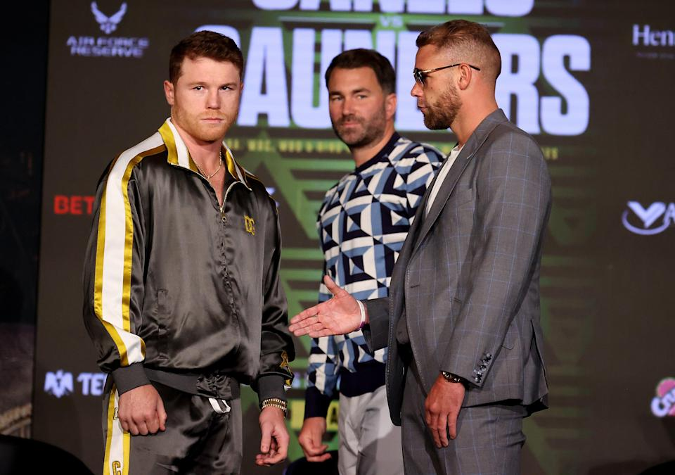 Canelo has more motivation to his his opponent Saunders after pre-fight events (Getty Images)