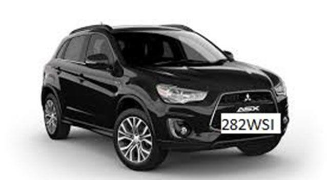An abandoned Mitsubishi ASX (similar to the one pictured) belonging to the missing Gladstone mum was found Tuesday afternoon. Picture: Queensland Police