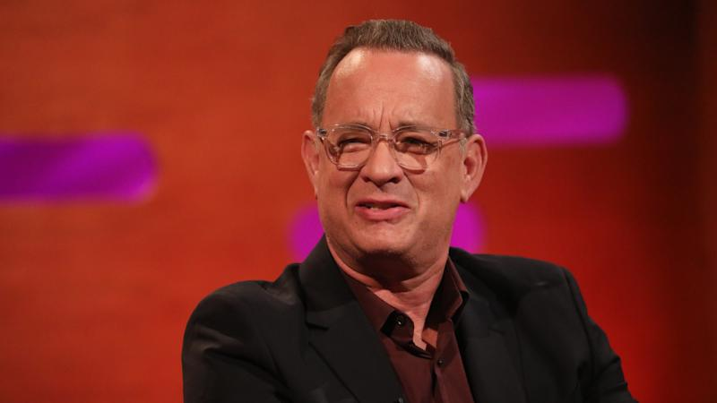 Tom Hanks back in the US after self-isolating in Australia