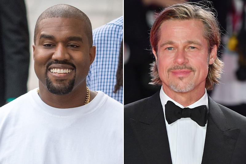 Brad Pitt Joins The Church Of Kanye West