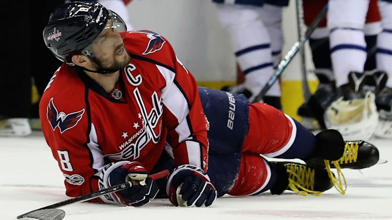 Capitals' Alex Ovechkin good to go for Game 6 after taking questionable hit by Nazem Kadri