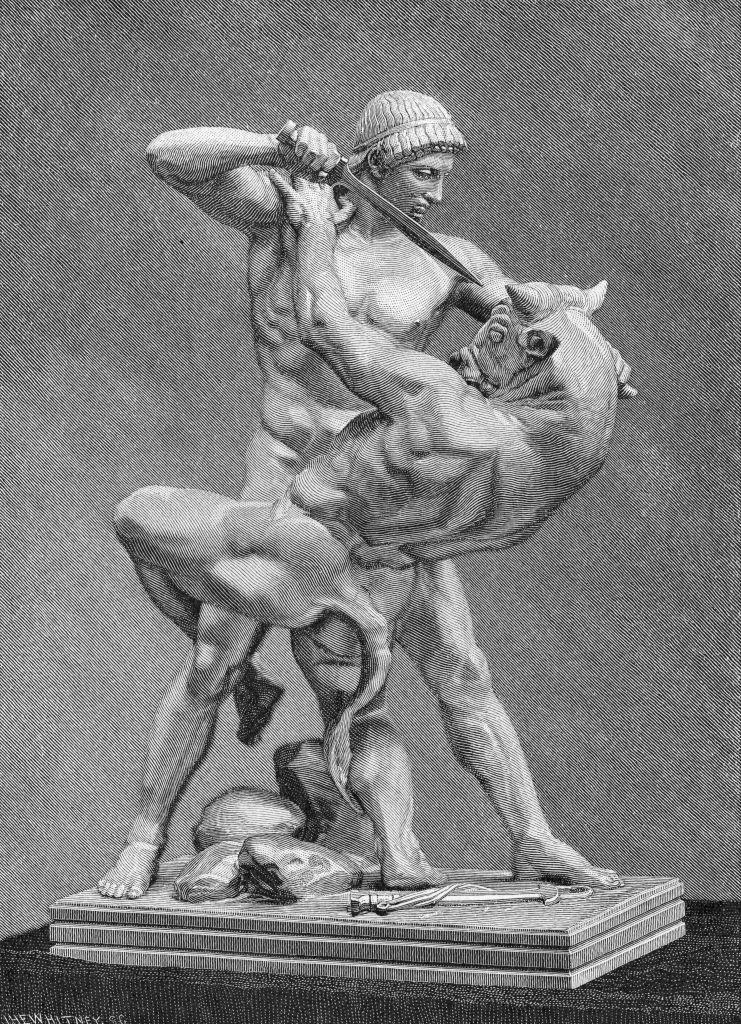 <p><strong>Origin:</strong> <em>Greek.</em></p><p>The Minotaur, whose birth name was Asterion, is another fabled creature from Greek mythology. The Minotaur was part man, part bull, the product of an affair between Queen Pasiphaë and a bull—hence the Minotaur's weird anatomy. In order to keep the Minotaur and his ravenous hunger for humans locked away, Daedalus and his son Icarus—you know, the one who flew too close to the sun—built a maze to contain it at the behest of King Minos, Pasiphaë's husband. </p><p>To sate the Minotaur's appetite and keep him within the confines of the maze, the creature was offered human sacrifices. The Minotaur, who is said to have grown into a monstrous, evil beast, lived in the maze until the hero, Theseus, killed it.</p>
