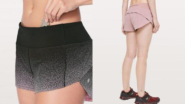 You'll be dreaming about these gorgeous speckled shorts.