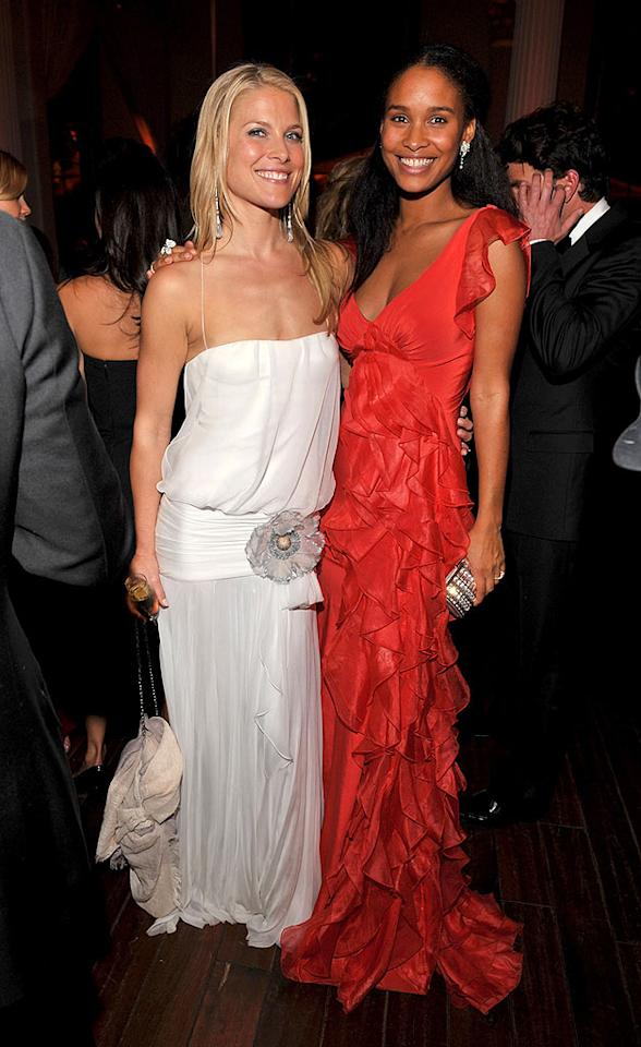 """Ali Larter (""""Heroes"""") and Joy Bryant (""""Antwone Fisher"""") look like fire and ice next to each other. Lester Cohen/<a href=""""http://www.wireimage.com"""" target=""""new"""">WireImage.com</a> - January 12, 2008"""