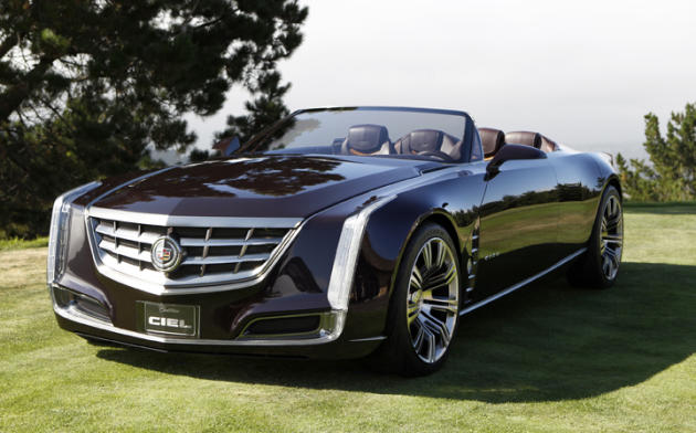 Cadillac S Latest Concept The Ciel Convertible Could Hint At Brand Next Flagship Four