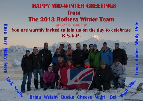 Midwinter's Day Gets Big Bash in Antarctica