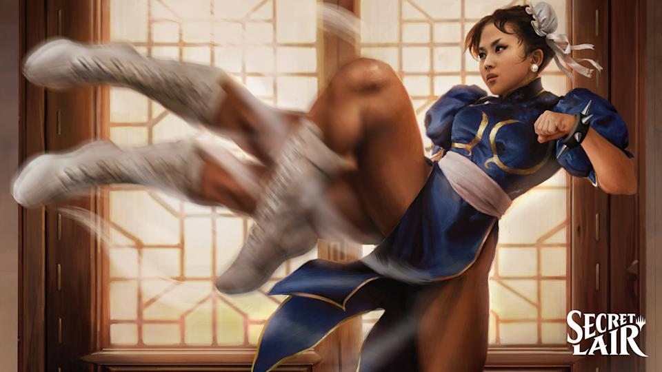Artwork by Martina Fačková from the Street Fighter crossover (Image: Wizards of the Coast)