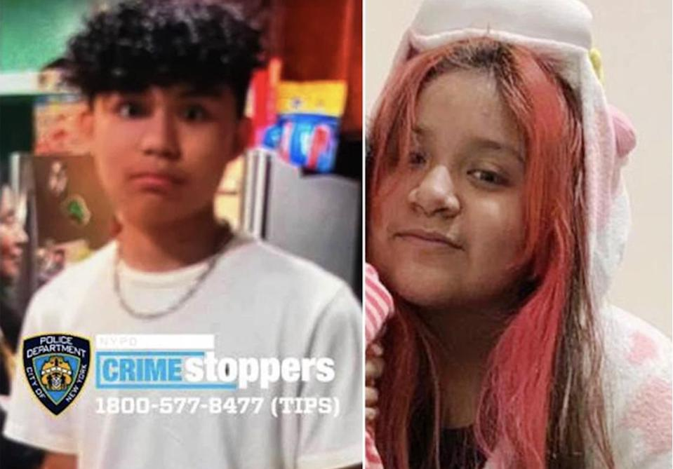 New York teenager steals his dad's car to run away with his 11-year-old girlfriend (NYPD)