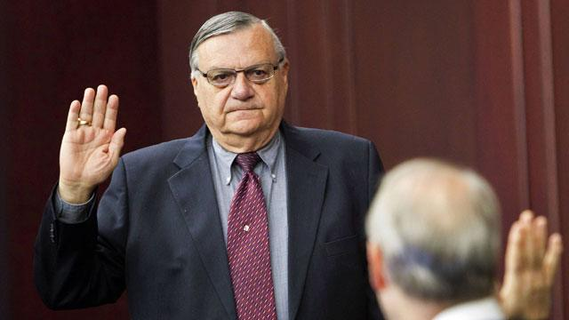 Justice Department Sues Sheriff Joe Arpaio in Civil Rights Case