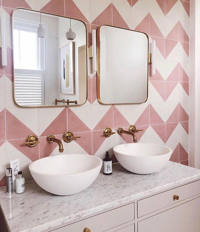"""<p>Benjamin Heginbotham at <a href=""""https://www.practicalplanningco.co.uk"""" target=""""_blank"""">The Practical Planning Company,</a> says: 'Simply put, by remodelling your bathroom you can ensure all fixtures and plumbing are up to date and working efficiently. By incorporating new features such as recessed lighting and modern tiling and flooring products, you can bring in a real sense of luxury.'</p><p>We love Bert & May tiles for some contemporary chic.</p><p><a href=""""https://www.instagram.com/p/B8lHcqonOIO/?utm_source=ig_embed&utm_campaign=loading"""">See the original post on Instagram</a></p>"""