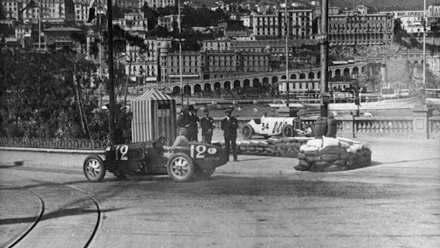 90 Years Monaco GP Bugatti