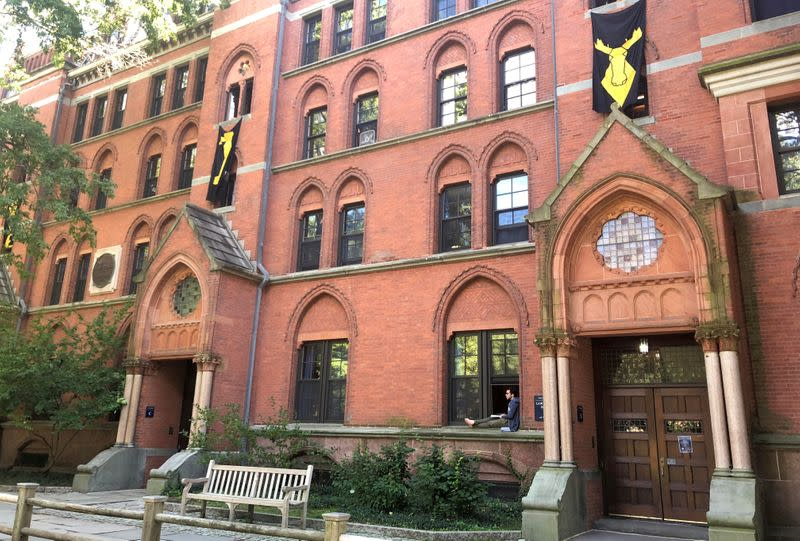 FILE PHOTO: Lawrance Hall is shown at Yale University in New Haven