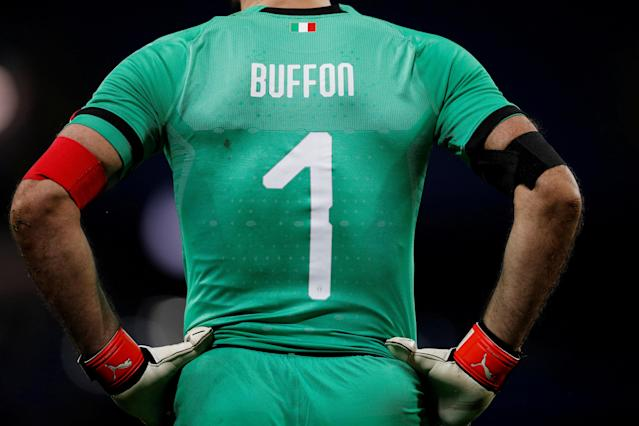 Soccer Football - International Friendly - Italy vs Argentina - Etihad Stadium, Manchester, Britain - March 23, 2018 Italy's Gianluigi Buffon REUTERS/Phil Noble TPX IMAGES OF THE DAY