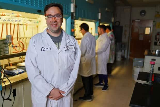 John Trant is a chemistry professor at the University of Windsor. He is also leading a team of researchers in the design of a test that will look at whether people are immune to COVID-19 after they're vaccinated.