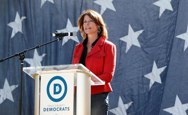 Rep. Cheri Bustos (D-Ill.) won her Midwest district by more than 20 points, even though it's a Trump stronghold. That's a pretty good skill to have for someone running to lead the DCCC. (Photo: ASSOCIATED PRESS)