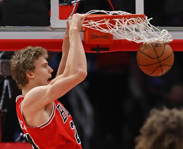Lauri Markkanen may have the makings of a franchise player. (Getty Images)