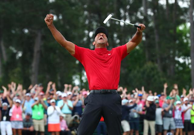 Tiger Woods admirers and haters all watched in awe of the return to Masters glory. It was hard not to smile. By Amy Fadool