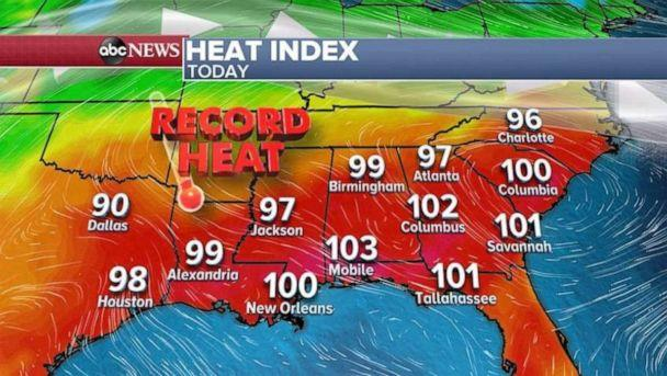 PHOTO: Heat index (ABC News)