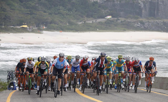 The women's Olympic Games road race