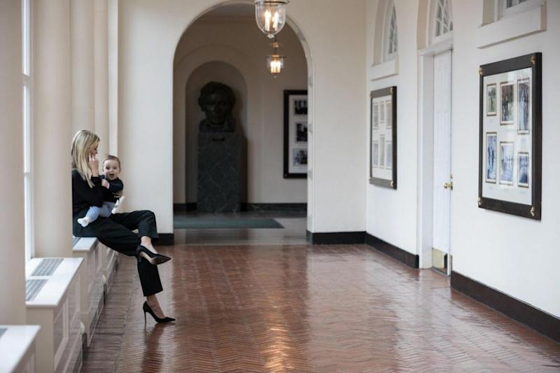 Ivanka has been under fire for almost every photo posted to Twitter since her father moved into the White House. Source: Twitter/IvankaTrump
