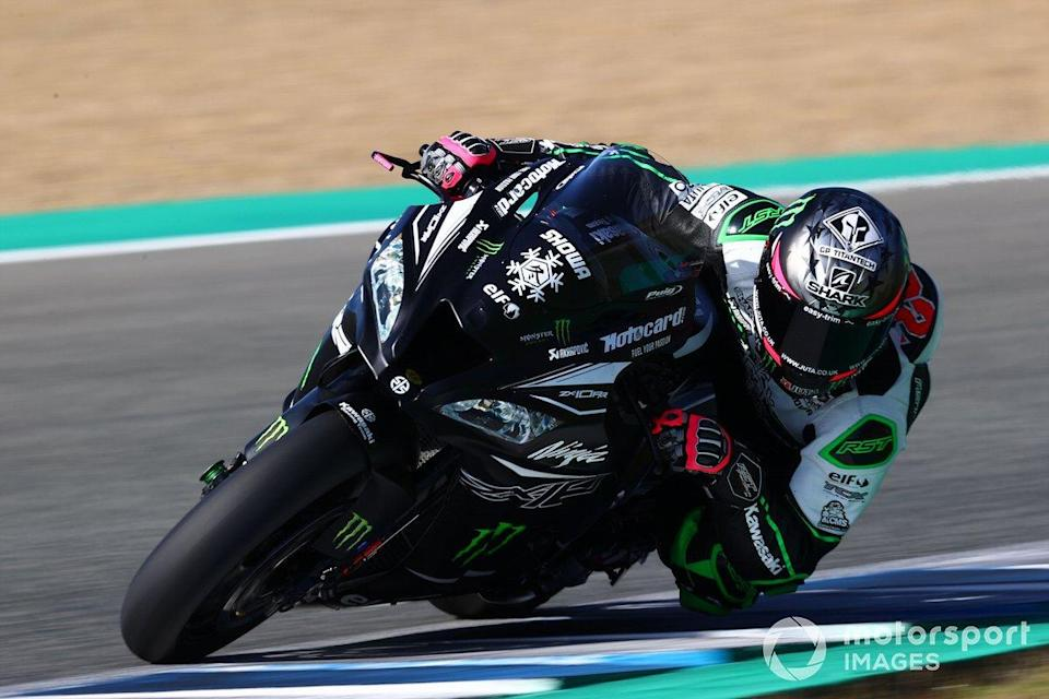 "Alex Lowes, Kawasaki Racing Team<span class=""copyright"">Gold and Goose / Motorsport Images</span>"
