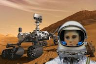 McKayla Maroney is not impressed with Curiosity.
