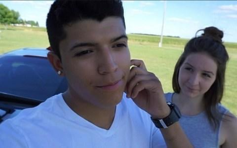 Ruiz and Perez introducing the shooting stunt in the video of the fatal incident - Credit: YouTube
