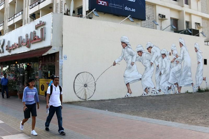 ... street, part of the government-funded Dubai Street Museum project