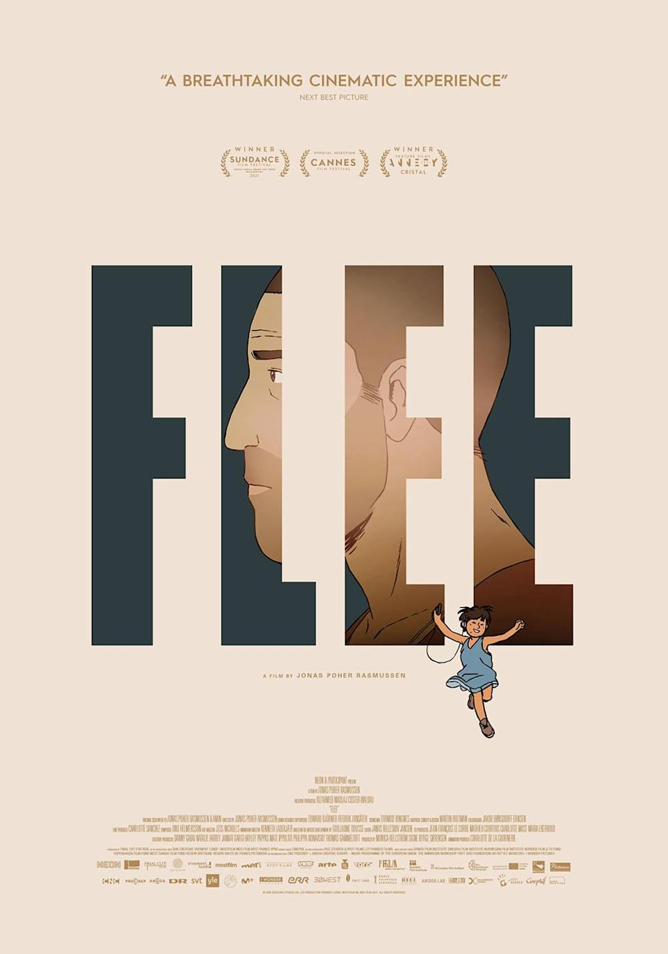 """""""Flee"""" poster - Credit: Courtesy of NEON"""